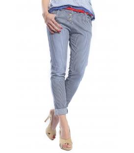 ZIMO Jeans boyfriend baggy a righe FANTASY Art. 31062 NEW