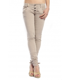 PLEASE jeans slim fit 3 buttons PARQUET P83 OLD+3D