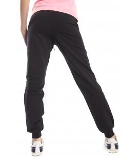 GOLA Pantalone in felpa con stampa NERO GOD161