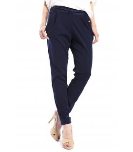 RINASCIMENTO Pantalone boyfriend baggy BLUE Art. CFC0066465003