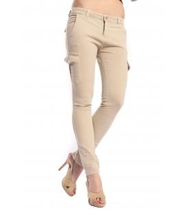 DENNY ROSE Pantalone con tasconi SABBIA 46DR21002