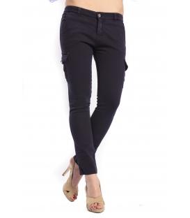 DENNY ROSE Pantalone con tasconi BLU 46DR21002