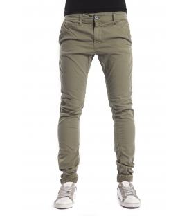 DISPLAJ Jeans con tasconi KINOS FIL color GREEN