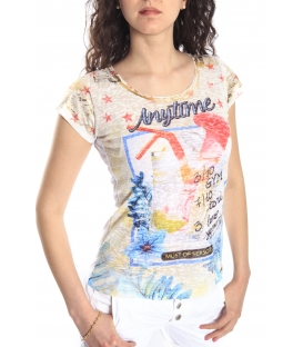 MARYLEY T-shirt con stampa FANTASY B93R