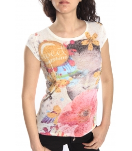 SLIDE OF LIFE T-shirt con stampa FANTASY art. B1196/A