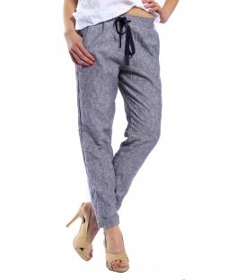 SUSY MIX pantalone in lino art. 1591