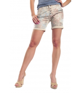 MARYLEY Shorts slim fit FANTASY BEIGE B67C MADE IN ITALY