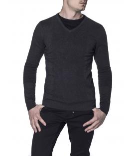 Antony Morato maglia maniche lunghe con scollo a V mmsw00439