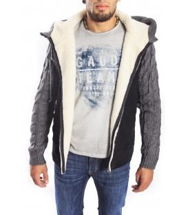Gaudi Jeans - maglia in cotone con stampa Beige 52bu67181