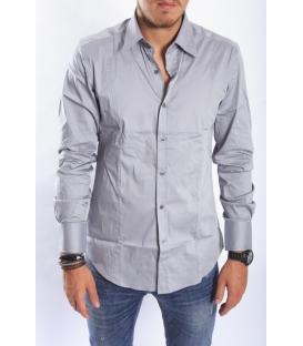 ANTONY MORATO Shirt slim GREY MMSL00145 NEW