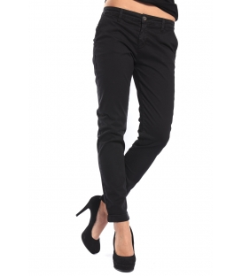 J-CUBE Pantaloni cinos slim fit col. NERO Art. JC112