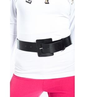 DENNY ROSE Cintura con fibbia lucida NERO 52DR92000