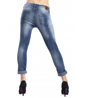 525 by Einstein jeans boyfriend with zip DENIM P654516