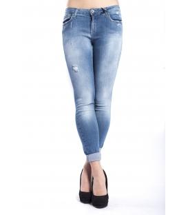 525 by Einstein jeans boyfriend con strappetti DENIM P654517