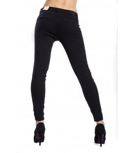 Pantalone donna cinos baggy NERO CY551-1