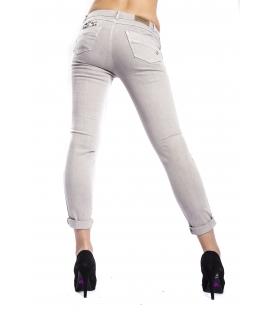MARYLEY Jeans woman slim fit push-up GRIGIO Art. B690/T08
