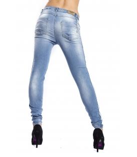 MARYLEY Jeans woman boyfriend baggy LIGHT DENIM Art. B501/G4F
