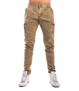 Pantalone UOMO con tasconi MILITARE Art. 8305