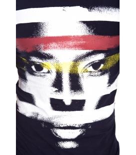 ANTONY MORATO T-shirt UOMO con stampa BLU MARINE MMKS00820