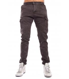 Pantalone UOMO con tasconi MORO/BLACK Art. 8305