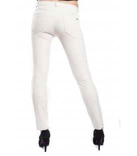 RINASCIMENTO Pantalone PANNA con zip Art. CFC0072781003