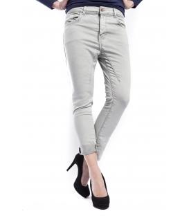 RINASCIMENTO Jeans boyfriend con zip GRIGIO PERLA Art. CFC0072609003