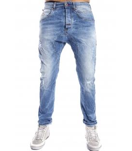 GIANNI LUPO Jeans con strappi 4 bottoni DENIM Art. TOKYO