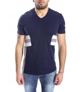 ANTONY MORATO T-shirt con scollo a V BLU MARINE MMKS00779