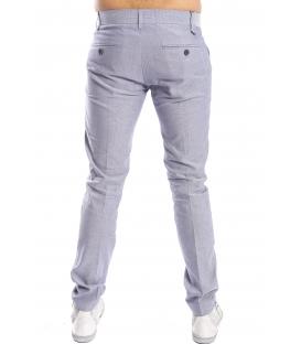 ANTONY MORATO Pantaloni eleganti con microfantasia INDACO MMTR00281