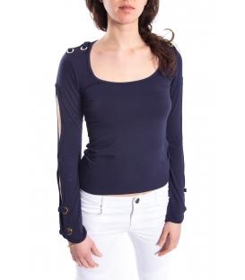DENNY ROSE T-shirt con dett. maniche BLUE Art. 63DR16026