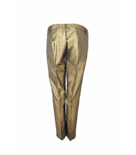 DENNY ROSE Pantalone con zip ORO Art. 51DR22004