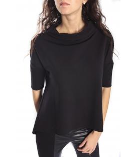 IMPERIAL Maxi sweater MQG9OEL BLACK new