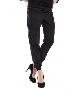 RINASCIMENTO Pantaloni Boyfriend baggy BLACK 023X990 WINTER 14-15 NEW