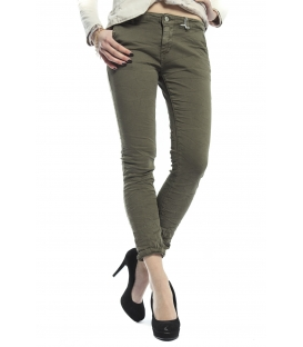 SUSY MIX Pantalone cinos baggy VERDE Art. 262 NEW