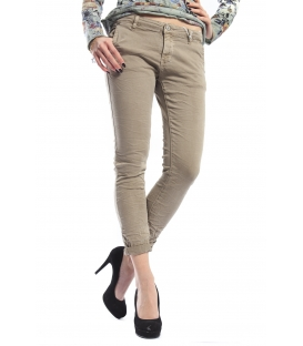SUSY MIX Pantalone cinos baggy BEIGE Art. 262 NEW
