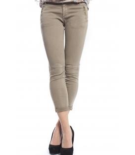 SUSY MIX Pantalone slim fit BEIGE Art. 200 NEW