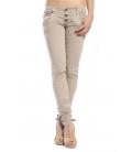 PLEASE jeans slim fit 3 buttons PARQUET P83 OLD+3D