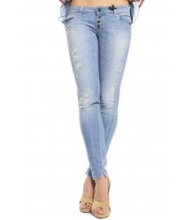 525 by Einstein jeans slim fit 4 buttons LIGHT DENIM P554507