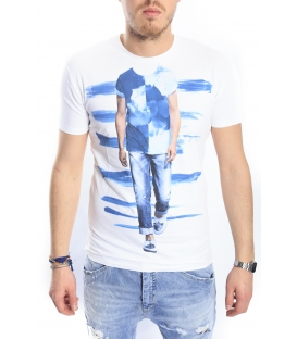 ANTONY MORATO T-shirt with print WHITE MMKS00565