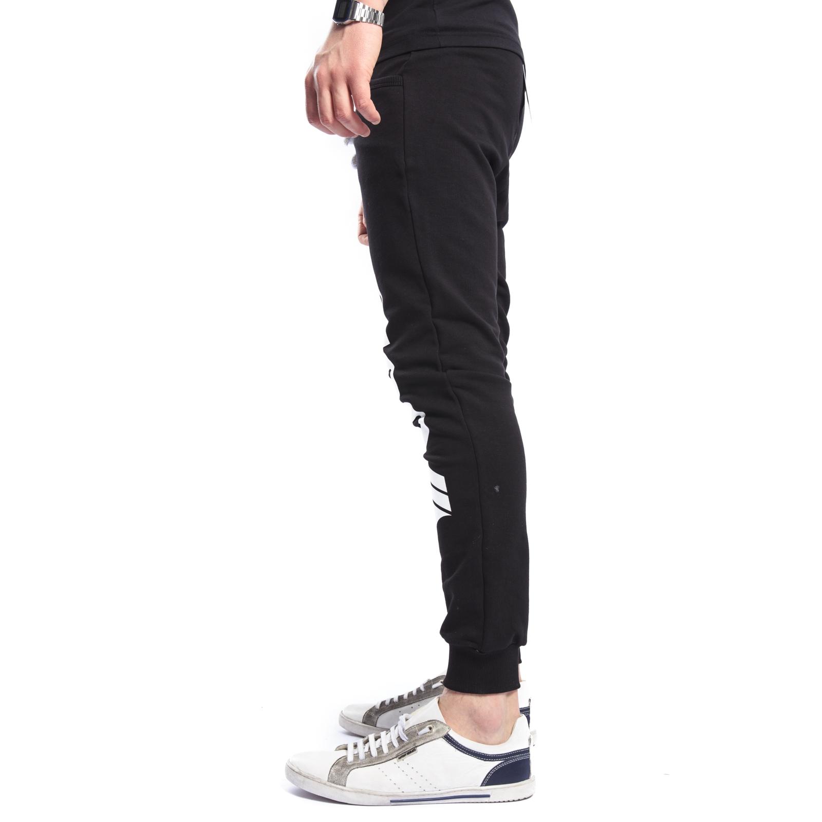 Felpa Stampa Pantaloni In Con Black Gola Gou306 dxorBeC