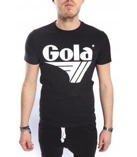 GOLA T-shirt con stampa NERO GOU303
