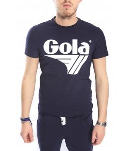 GOLA T-shirt con stampa BLU GOU303