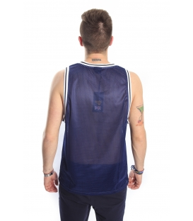 GOLA Tank / T-shirt perforated with print BLUE GOU311