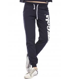 GOLA Pantalone in felpa con scritta BLU GOD161