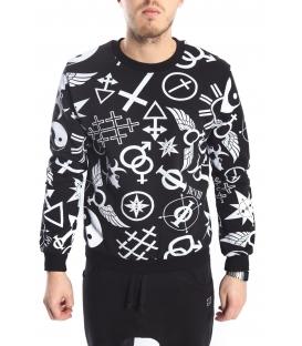 STK SUPER TOKYO Sweatshirt with print FANTASY STK1164