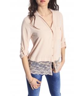 RINASCIMENTO Camicia/blusa con pizzo ROSA Art. CFC0066489003