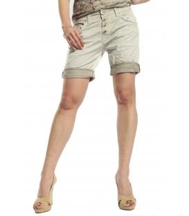MARYLEY Shorts boyfriend baggy WASHED GREEN B88S