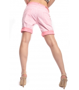 MARYLEY Shorts boyfriend baggy WASHED PINK B88S