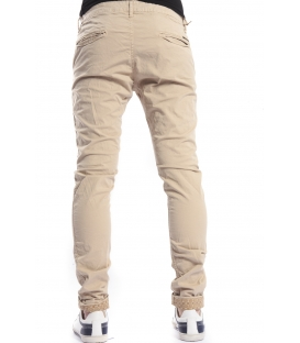 DISPLAJ Pants cinos KINOS FIL color BEIGE