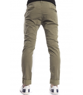 DISPLAJ Pants cinos KINOS FIL fantasy GREEN